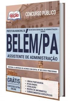 Concurso Prefeitura de Belém PA 2020