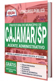 Apostila Prefeitura de Cajamar 2020