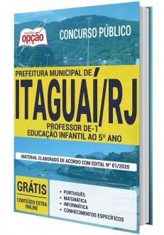 Concurso Prefeitura de Itaguaí Professor