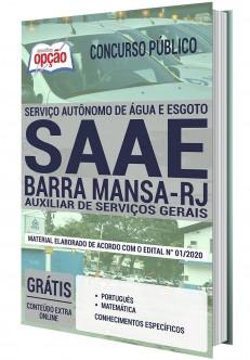 Concurso SAAE Barra Mansa