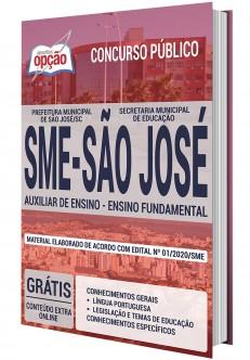 Concurso SME São José SC 2020