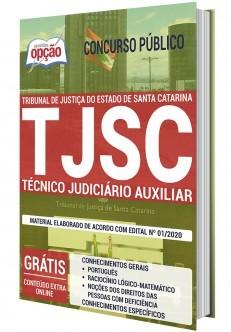 Concurso TJ SC 2020