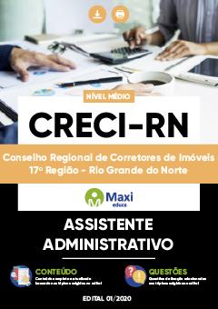 Concurso CRECI RN 2020
