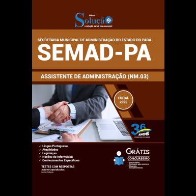 Concurso Prefeitura de Belém SEMAD PA