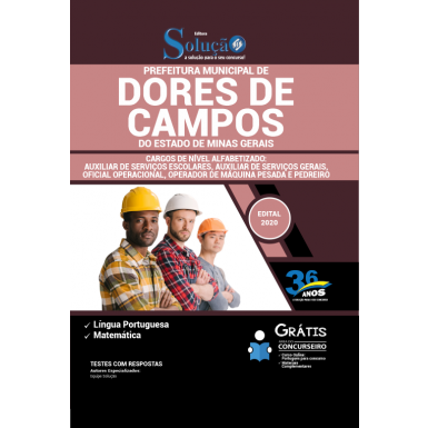 Concurso Prefeitura de Dores de Campos