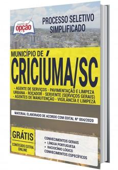 Concurso Prefeitura de Criciúma
