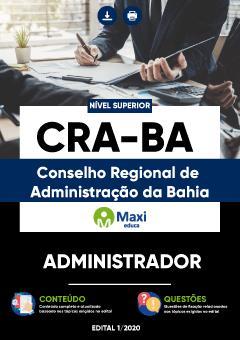 Concurso CRA-BA 2020