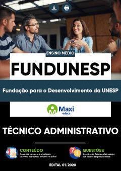 Concurso FUNDUNESP 2020