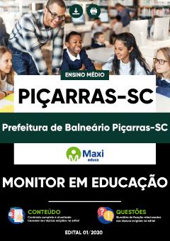 Concurso Prefeitura de Balneário Piçarras