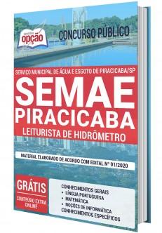 Concurso SEMAE Piracicaba 2020