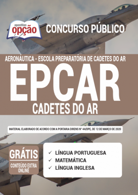 Concurso EPCAR Aeronáutica