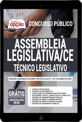 Concurso Assembleia Legislativa do Ceará CE