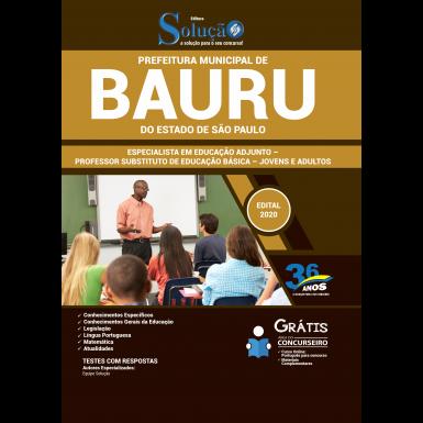 Concurso Prefeitura de Bauru 2020