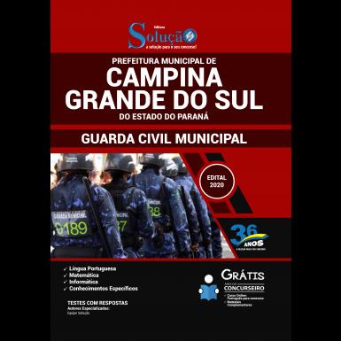 Concurso Campina Grande do Sul PR