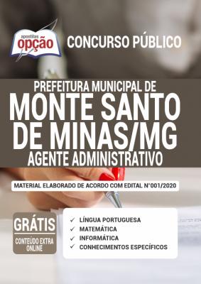 Concurso Monte Santo de Minas MG