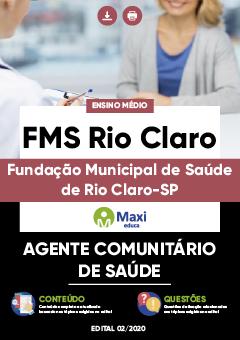 Concurso FMS Rio Claro SP 2020