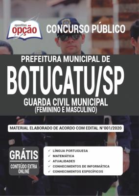 Concurso Prefeitura de Botucatu 2020