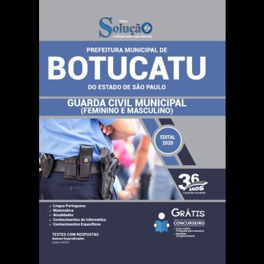 Concurso Prefeitura de Botucatu
