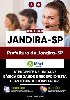 Concurso Prefeitura de Jandira SP 2020