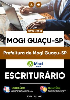 Concurso Prefeitura de Mogi Guaçu SP 2020