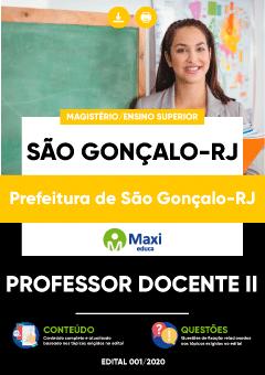 Concurso São Gonçalo RS 2020 Professor