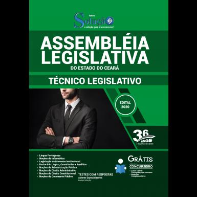 Concurso Assembleia Legislativa CE 2020