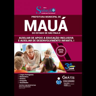 Concurso Prefeitura de Mauá 2020