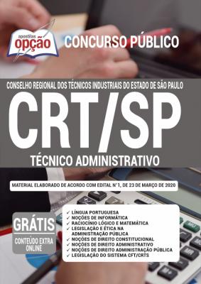 Concurso CRT SP 2020