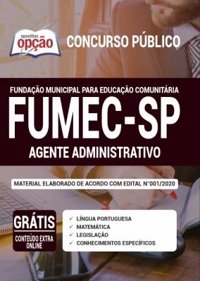 Concurso FUMEC SP 2020