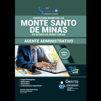 Concurso Monte Santo de Minas MG 2020