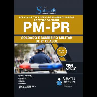 Concurso Polícia Militar PR e Bombeiros PR 2020