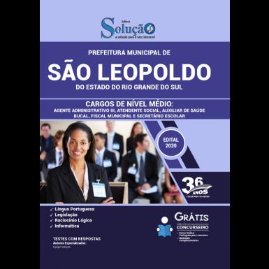 Concurso Prefeitura de São Leopoldo RS