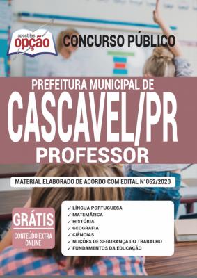 Concurso Prefeitura de Cascavel PR 2020