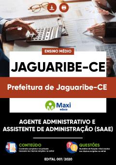 Concurso Prefeitura de Jaguaribe CE 2020