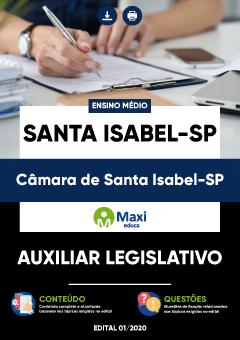 Concurso Câmara de Santa Isabel SP 2020