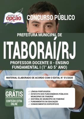 Concurso Prefeitura de Itaboraí RJ 2020