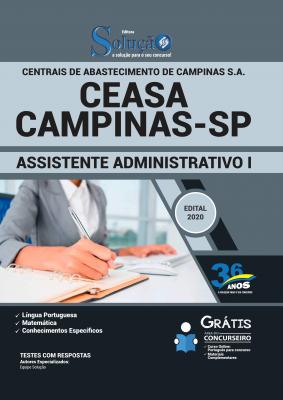 Concurso CEASA Campinas SP 2020
