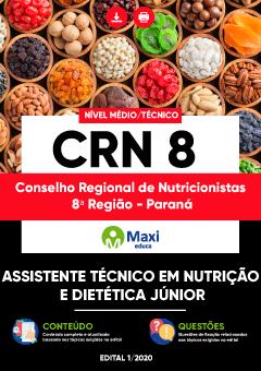 Concurso CRN 8 - Paraná 2020