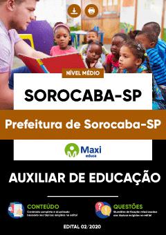 Concurso Prefeitura de Sorocaba SP 2020