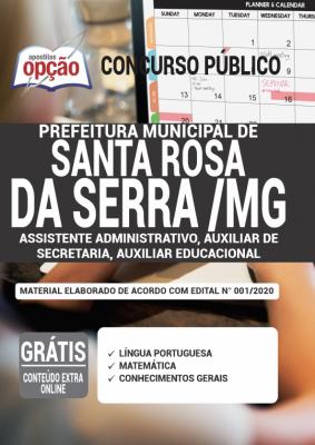Concurso Santa Rosa da Serra MG 2020