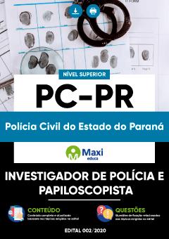 Concurso Polícia Civil PR (PC-PR) 2020
