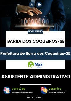 Concurso Prefeitura de Barra dos Coqueiros SE 2020