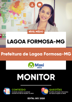 Concurso Prefeitura de Lagoa Formosa MG 2020
