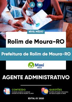 Concurso Prefeitura de Rolim de Moura RO 2020