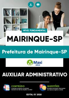Concurso Prefeitura de Mairinque SP