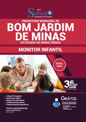 Concurso Prefeitura de Bom Jardim de Minas