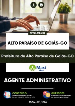 Prefeitura de Alto Paraíso de Goiás GO 2020