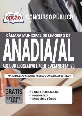 Concurso Limoeiro de Anadia AL 2020