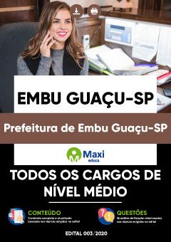 Concurso Embu-Guaçu 2020