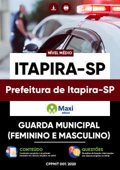 Concurso Prefeitura de Itapira SP 2020